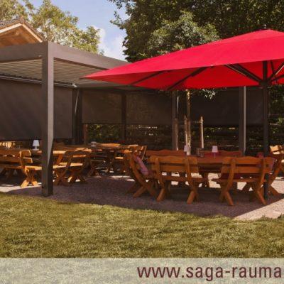 SAGA Raumausstattung ist Spezialist für Gardinen, Bodenbelag, Sonnenschutz, Markisen, Pergola, Rolladen, Insektenschutz und Wasserschaden in Aschaffenburg