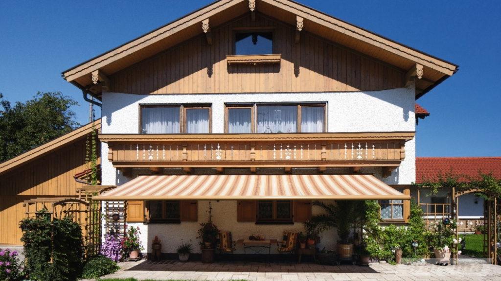 Markisen in Babenhausen | SAGA Raumausstattung Aschaffenburg | Gardinen, Bodenbelag, Sonnenschutz, Pergola, Rolladen, Insektenschutz und Wasserschaden