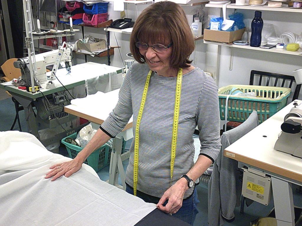 Impressionen | Unsere hauseigene Schneider für Gardinen und Vorhänge in Aschaffenburg