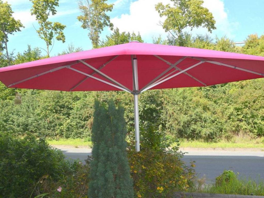 Sonnenschirme ausstellung | SAGA Raumausstattung Aschaffenburg | Gardinen, Bodenbelag, Sonnenschutz, Pergola, Rolladen, Insektenschutz und Wasserschaden