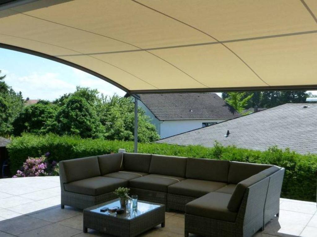 Markisen Wohnung Terrasse | SAGA Raumausstattung Aschaffenburg | Gardinen, Bodenbelag, Sonnenschutz, Pergola, Rolladen, Insektenschutz und Wasserschaden