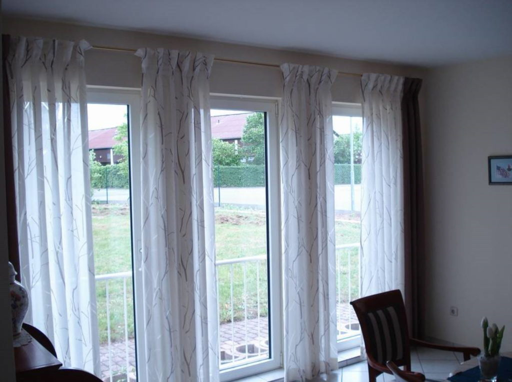 Gardine vorhang | SAGA Raumausstattung Aschaffenburg | Gardinen, Bodenbelag, Sonnenschutz, Pergola, Rolladen, Insektenschutz und Wasserschaden
