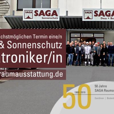 Mechatroniker | SAGA Raumausstattung ist Spezialist für Gardinen, Bodenbelag, Sonnenschutz, Markisen, Pergola, Rolladen, Insektenschutz und Wasserschaden in Aschaffenburg