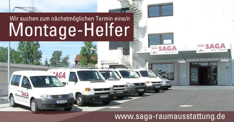Montagehelfer bei SAGA Raumausstatung Aschaffenburg