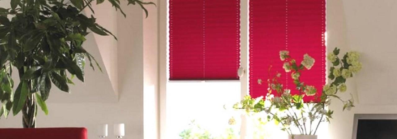 Plissee | SAGA ist seit 50 Jahren Spezialist für Gardinen, Bodenbelag, Sonnenschutz, Sonnensegel, Markisen, Pergola, Rolladen, Insektenschutz, Wasserschaden, Renovierung und Raumausstattung in Aschaffenburg