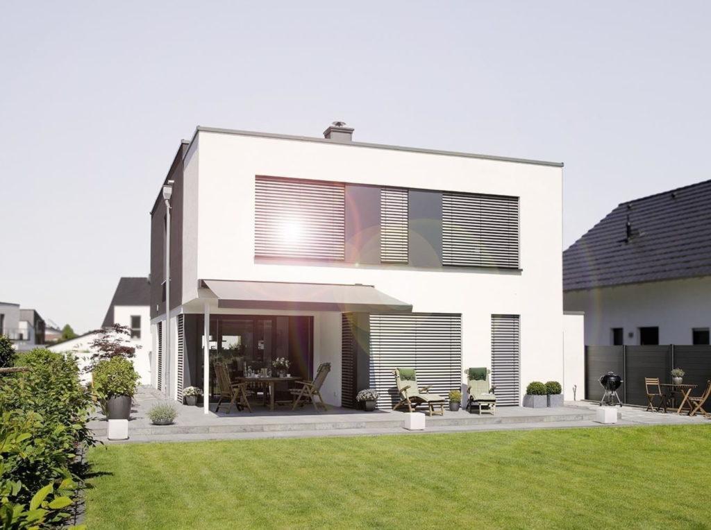 Raffstore naubau | SAGA Raumausstattung Aschaffenburg | Gardinen, Bodenbelag, Sonnenschutz, Pergola, Rolladen, Insektenschutz und Wasserschaden