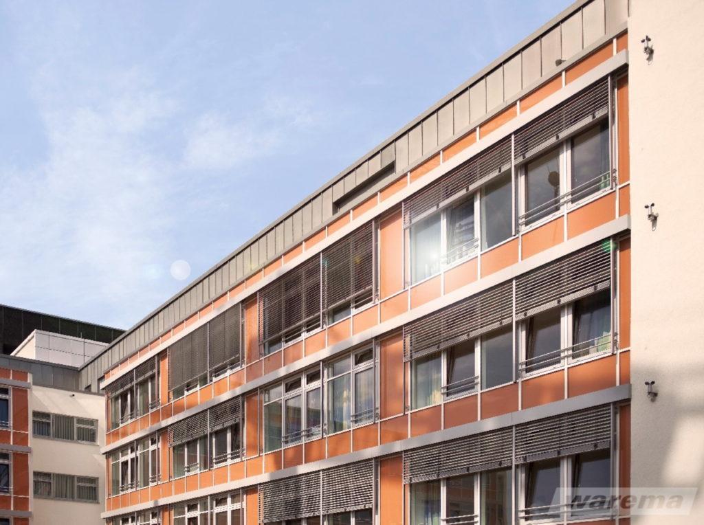Raffstore business geschäft b2b | SAGA Raumausstattung Aschaffenburg | Gardinen, Bodenbelag, Sonnenschutz, Pergola, Rolladen, Insektenschutz und Wasserschaden