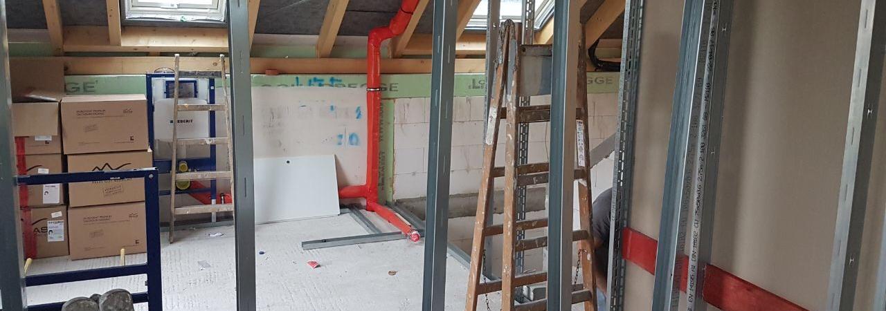 Trockenbau | SAGA Raumausstattung ist Spezialist für Gardinen, Bodenbelag, Sonnenschutz, Markisen, Pergola, Rolladen, Insektenschutz und Wasserschaden in Aschaffenburg